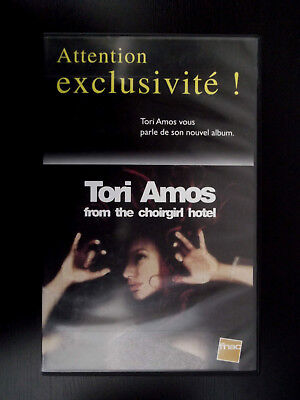 VHS PROMO limitee - TORI AMOS from the Choirgirl Hotel : INTERVIEW+ VIDEO SPARK