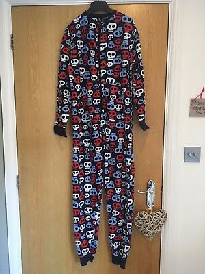 Boys Next All In One Skull Print Age 12 - Fantastic condition