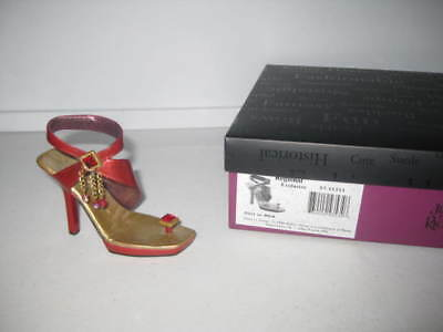 Just the Right Shoe by Raine Flirt In Red Regional Exclusive Department 56