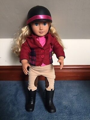 Our Generation Lily Anna Rider Doll