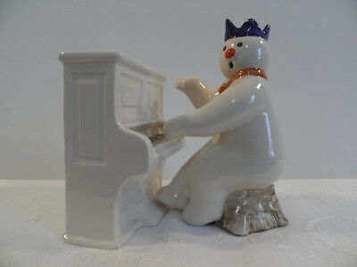 Royal Doulton Snowman Piano And Pianist - Ds 12 & Ds 13
