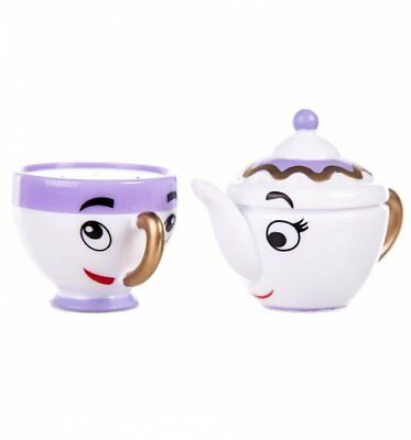 Official Beauty And The Beast Disney Mrs Potts & Chip Lip Balm Duo