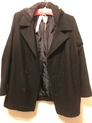 Old Navy Youth Wool Peacoat L