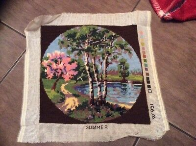 Summer completed Tapestry