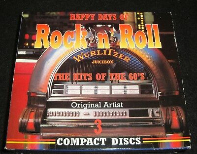 Cd - Happy Days Of Rock And Roll Hits Of The 60S - Free Shipping