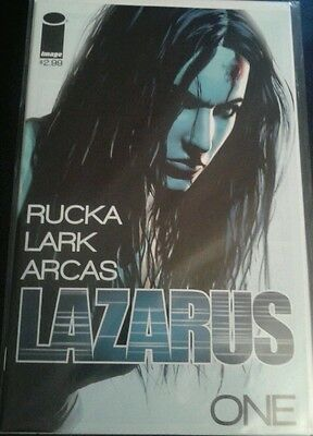 Lazarus #1 First Printing Greg Rucka Image Comics Optioned For Tv Vf-Nm