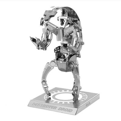 Star Wars Destroyer droid droideka 3D Puzzle Metal Educational Jigsaw Toy