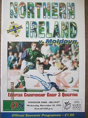 NORTHERN IRELAND v MOLDOVA       ECQ          18.11.98