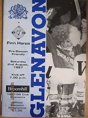 GLENAVON  v  FINN HARPS         2 August 1997     (Friendly)