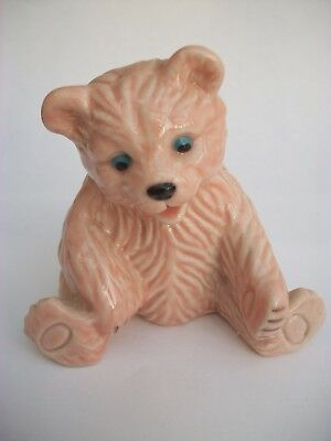 Wade/C&S Collectables Pink 'Lucky' Bear, Limited Edition of 100, never displayed