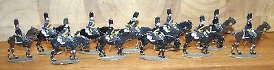 Napoleonic Wars Lead/Tin Flat Soldiers - Mixed French Old Guard Cavalry (1)