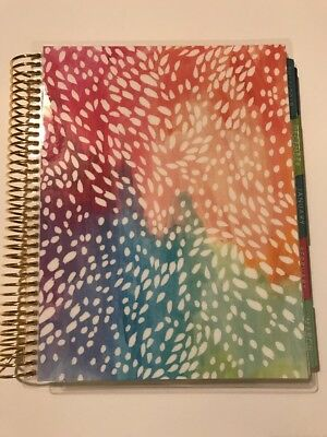 Erin Condren Vertical Colourful Diary Planner 2017 2018