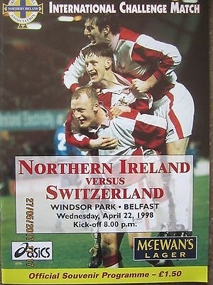 NORTHERN IRELAND v SWITZERLAND         FR         22.04.98