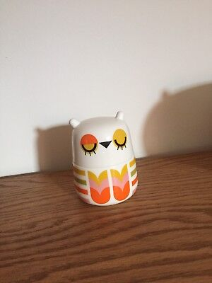 Camila Prada Small Owl Storage Jar