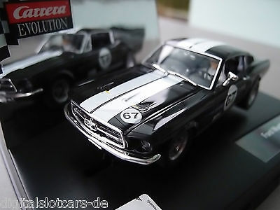 "Carrera Evolution 27451 Ford Mustang GT ""No. 67"" USA only"