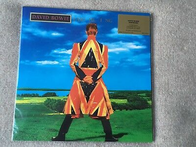 David Bowie Earthling Ltd Edition Blue Vinyl Mint & Sealed (Movlp815) #1101/2000