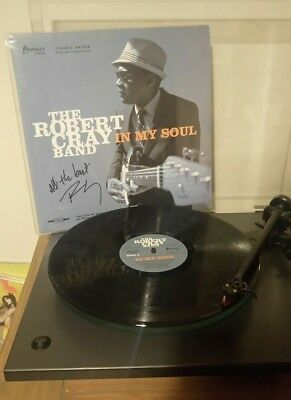 Robert Cray - In My Soul vinyl LP signed by the man himself 😊