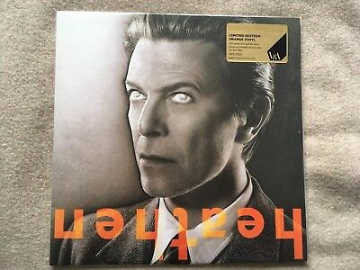 David Bowie V&a Heathen Limited Edition Orange Vinyl New & Sealed 420/500