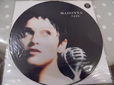"Madonna - Rain - Up Down Suite - Picture Disc - Open Your Heart - 12"" 1993"
