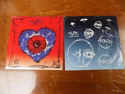 2 Various The Cure 45Rpm Records