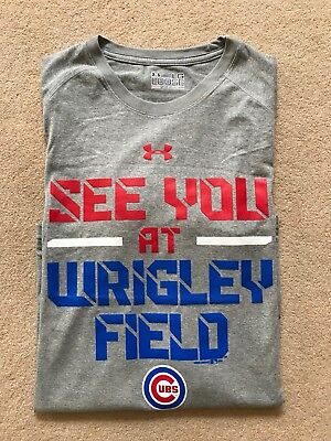 Under Armour Chicago Cubs t-shirt - Size L - BRAND NEW!