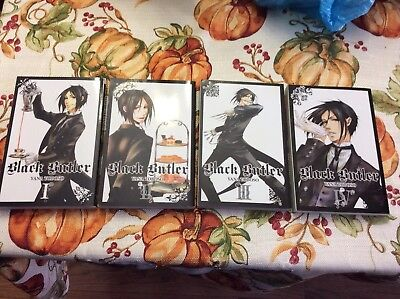 Black Butler - Manga Lot Volume 1-4