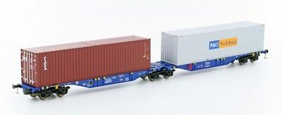 Mehano 58817 SGGMRSS 90' CBR mit 2x 40' Container P & O / TEX DC