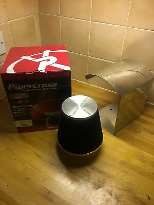 Pipercross Air Filter Induction Kit And Heat Shield