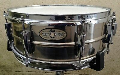 Pearl Sensitone Steel Custom Alloy snare drum