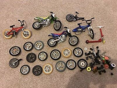 Tech deck BMX Spares Wheels Motorbikes Stunt Bike Toy