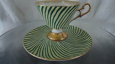 Shafford  Pedestal Cup And Saucer Japan