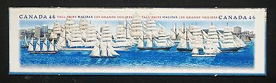 Canada SC# 1865a (1864 1865) TALL SHIPS IN HALIFAX HARBOUR  2000 boats MNH