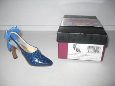 Just the Right Shoe by Raine Forever Yours, Blue GCC Exclusive Complete COA