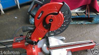 einhell mitre saw  RT-SM 430 U 230v ,430mm at 90 deg, new with transit damage
