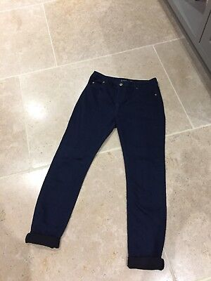 Whistles indigo super stretch jeans 28 10