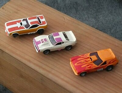 Lot of 3 AFX Slot Cars Chevy Vega,AMC Javelin and Other