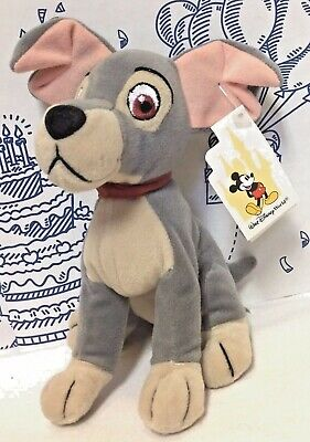 "New Disney World Parks Dog Lady and the Tramp 9"" Stuffed Beanbag Plush Toy Puppy"
