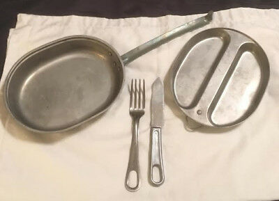 Vintage military mess kit dated 1960