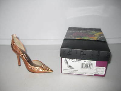 Just the Right Shoe by Raine Shimmer in Copper Carlton Cards Excl Complete COA