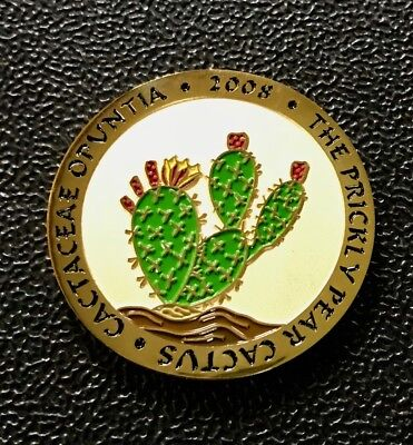 2008 Prickly Pear Geocoin - New & Unactivated