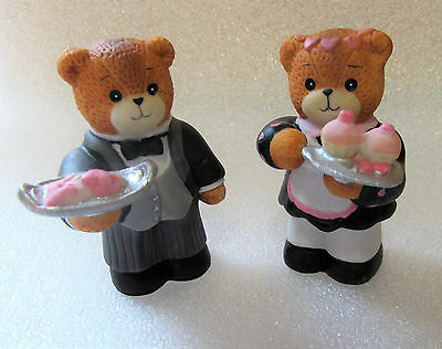Lucy & Me ~ HOST HOSTESS MAID BUTLER ~  Valentine's Day Party Figurine Enesco