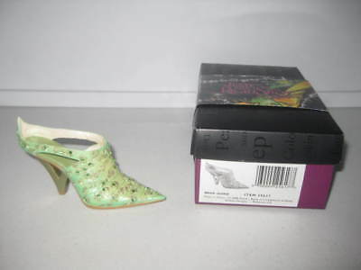 Just the Right Shoe by Raine Mint Julep 25617 Complete COA Willitts Deisgns