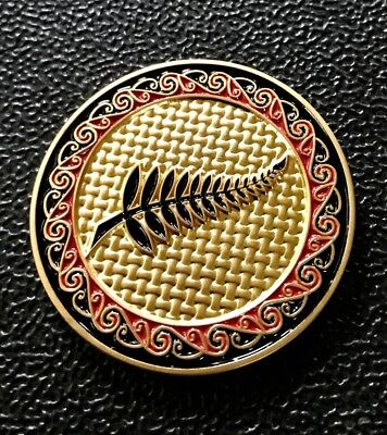 Very Rare & HTF 2007 New Zealand Fern Geocoin - New & Unactivated