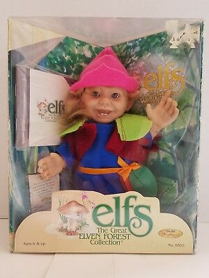 Dolls by Berenguer – Elfs The Great Elven Forest Collection – #6500 Lillen - NEW