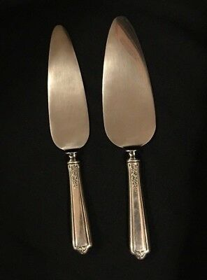 Towle 1926 SEVILLE Sterling Silver Hollow Handle Pie Cake Pastry Servers 2pc