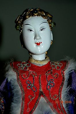 Chinese Opera Doll Very Early Antique Doll Nice Example Of Yeasteryear