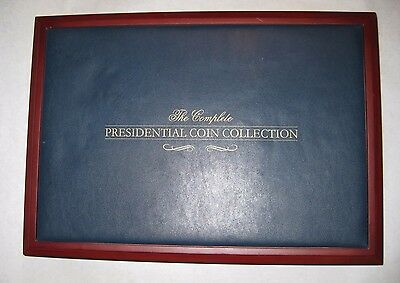 Franklin Mint The Complete Presidential Coin Display Case NEW