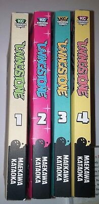 English manga lot Livingstone volumes 1 2 3 4 complete urban fantasy drama