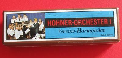 "Mint Vintage Hohner Orchester I Harmonica ""c"" Never Played/handled"