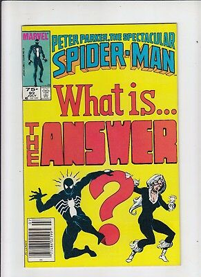 Peter Parker the Spectacular Spider-Man #92 75 cent Canadian Newsstand Price NM-